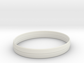 3.5in x .5in BladeBand Bracelet in White Strong & Flexible