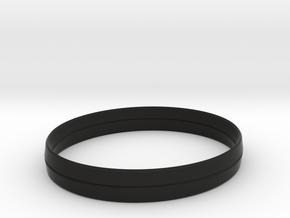 3.5in x .5in BladeBand Bracelet in Black Natural Versatile Plastic