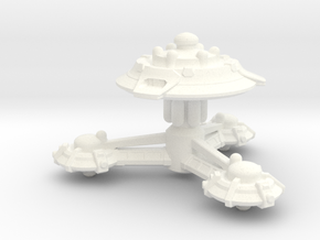 Research Station in White Strong & Flexible Polished