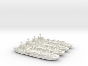 LCF4 4 Off 1/700 Scale in White Natural Versatile Plastic
