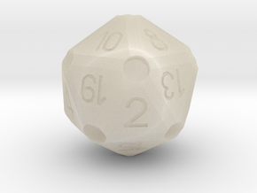 D2O_classic in White Acrylic