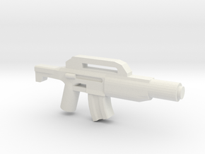 SSWA ACAR-M36 Rifle Curved Mag Variant in White Natural Versatile Plastic