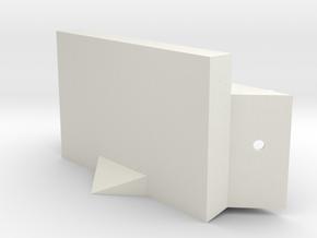 03-ALSEP in White Natural Versatile Plastic