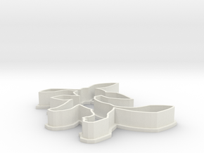 Glaceon Cookie Cutter in White Natural Versatile Plastic
