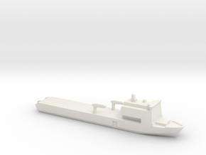 Bay 1:2400  in White Natural Versatile Plastic