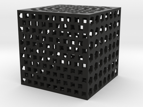 holecube1 in Black Strong & Flexible