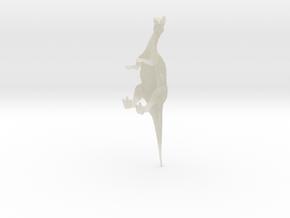 Lambeosaurus m. Standing Medium in Transparent Acrylic