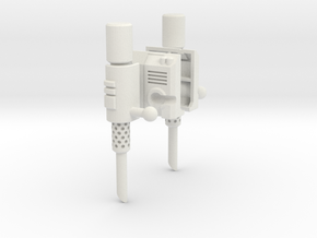 Classics Prime Smokestakes (no gun) in White Natural Versatile Plastic