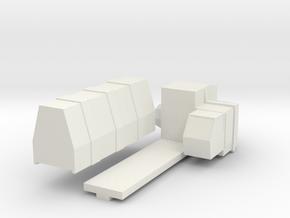 Weejana AL-3 in White Natural Versatile Plastic