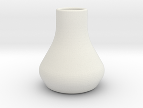 Mini vase in White Strong & Flexible