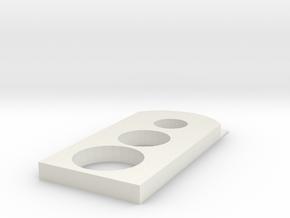 anhaenger 001 in White Strong & Flexible