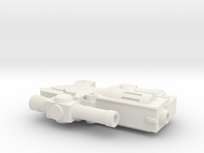 Classics Deceptive Leader Gun 1/18th scale in White Natural Versatile Plastic