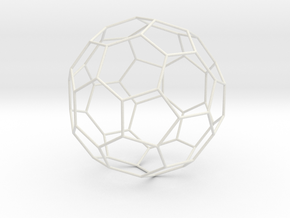 Fussball in White Natural Versatile Plastic