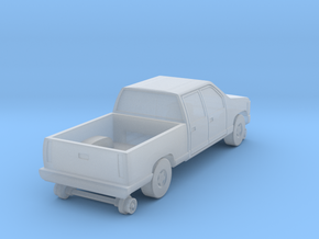 MOW Crew Cab Truck - Z Scale  in Smooth Fine Detail Plastic