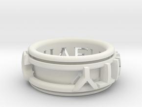 Singularity ring in White Natural Versatile Plastic
