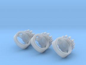 3 pin and gear ring should turn freely in Smooth Fine Detail Plastic