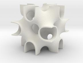 Gozdz' BFY surface in White Natural Versatile Plastic