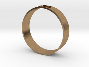 Thermal Detonator - Middle Ring in Natural Brass