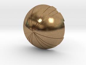 Thermal Detonator - Bottom hemisphere in Natural Brass