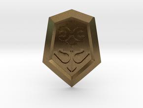 Mirror Shield I in Natural Bronze