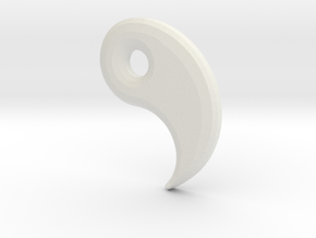 Ying Yanger -Upper Hook v1a in White Natural Versatile Plastic