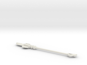 Power Lance in White Natural Versatile Plastic