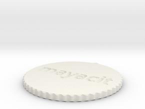 by kelecrea, engraved: mayacito in White Strong & Flexible