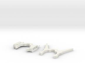 Sunlink - Ani Minerva Antennas + G1 Style Ears v2 in White Natural Versatile Plastic