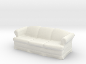 Viztu Couch in White Natural Versatile Plastic