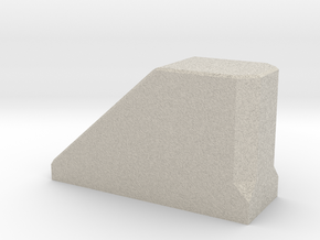 Stopblock-1 in Natural Sandstone