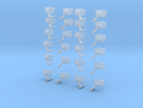 12packmirrors in Smooth Fine Detail Plastic