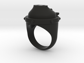 PigRing-01 in Black Strong & Flexible