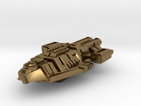Starship Transport Hybrid in Natural Bronze