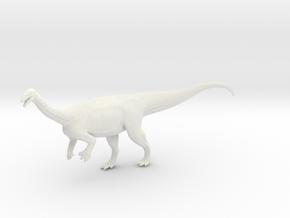 Dinosaur Plateosaurus 1:40 v1 in White Natural Versatile Plastic