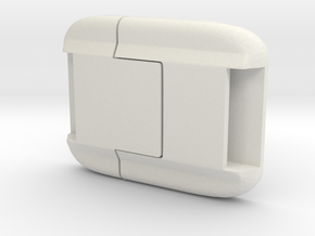 TRU Buckle in White Natural Versatile Plastic