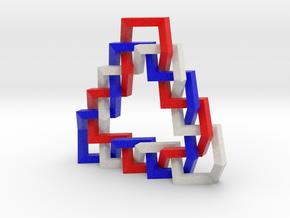 Triangular Braid II in Full Color Sandstone