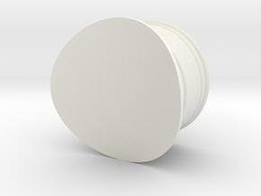 skorsten Litra H2 1:87 in White Natural Versatile Plastic