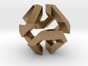 Hamilton Cycle on Truncated Octahedron in Natural Brass
