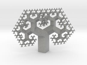 Regular Fractal Tree in Metallic Plastic