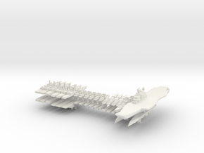 INS Fleet 1:3000 (36 ships) in White Strong & Flexible