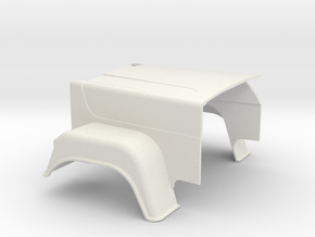 MACK-hood Superliner in White Strong & Flexible