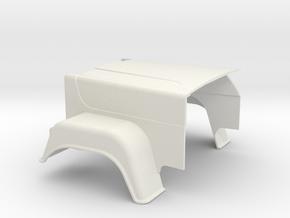 MACK-hood Superliner in White Natural Versatile Plastic