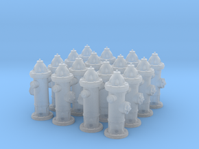 Hydrant type : A 00 (1:76) 16 Pcs in Smooth Fine Detail Plastic