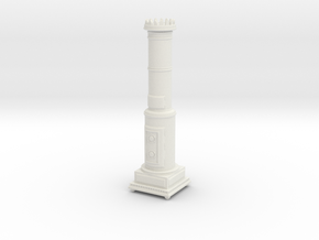 1:24 Scandinavian Stove in White Strong & Flexible