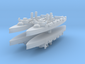 Infanta Maria Teresa class (Vizcaya) 1:3000 x4 in Smooth Fine Detail Plastic