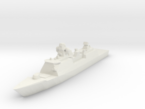 De Zeven Provinciën class frigate 1:2400  in White Strong & Flexible