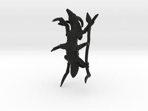 Xachni Alien Creature in Black Strong & Flexible