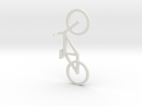 Bike in White Strong & Flexible