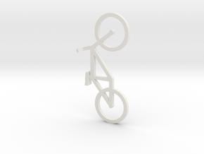 Bike in White Natural Versatile Plastic