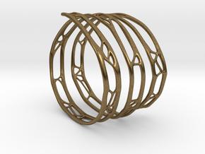 The Organic Bracelet in Natural Bronze